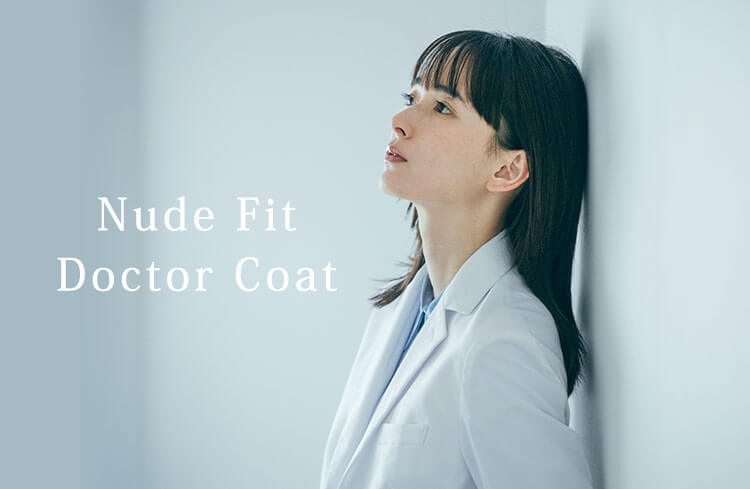 Nude Fit Doctor Coat