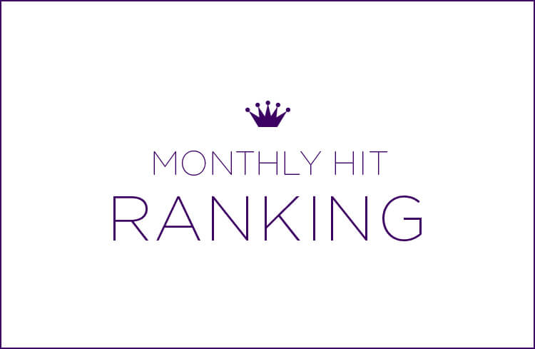 MONTHLY HIT RANKING